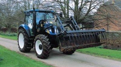 Tracteur new holland a fourche blog de lefermierdu53 - Tracteur avec fourche ...