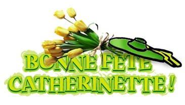BONNE FETES DE ST CATHERINE A TOUS MES 5 PETITES FILLES BISOUS (l)