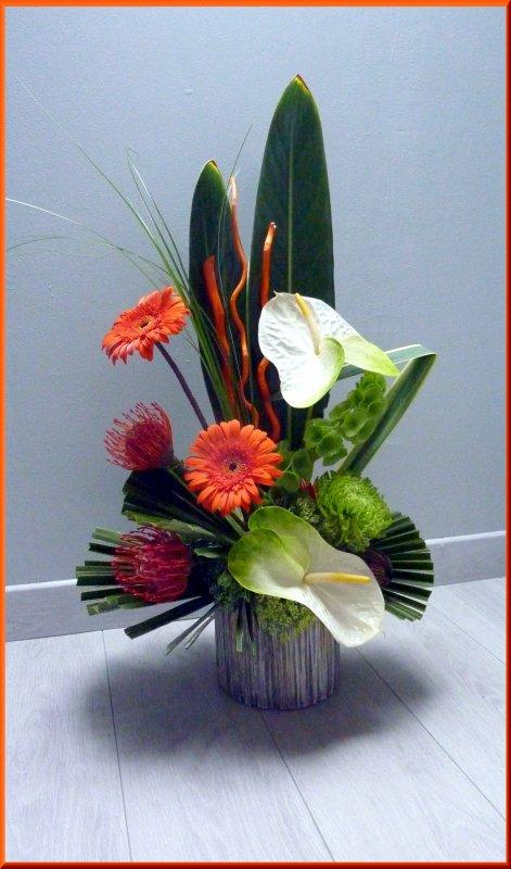 Une r�alisation que j'ai r�alis�, un grand merci � Simone et Alain pour les fleurs offertes.