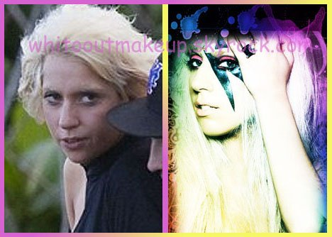 Lady gaga stars sans maquillage stars without - Lady gaga on est pas couche ...