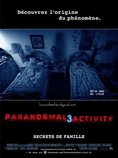 Paranormal Activity 3 : Secrets de Famille