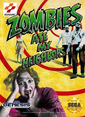 Zombies [Super Nintendo, Megadrive]