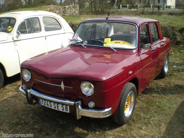 renault 8 major r1132 blog de voitures rare ancienne. Black Bedroom Furniture Sets. Home Design Ideas