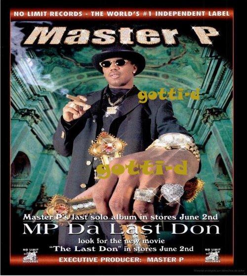 Master P - MP Da Last Don - gotti-d