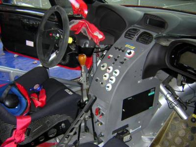 Interieur de la 206 wrc de jerome galpin rallye men for Interieur wrc