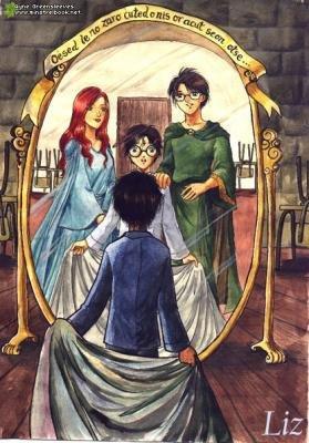 Le miroir du ris d entr e dans le monde de harry potter for Miroir harry potter