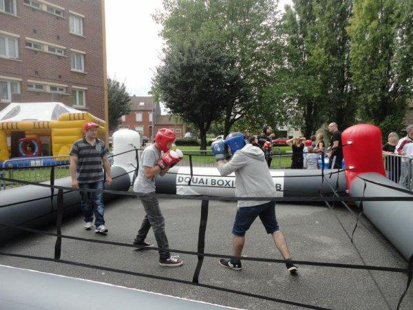 initiation boxe quartier du raquet cit� des moineaux le 15 aout 2014
