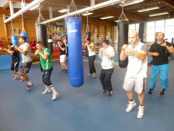 stage de boxe pro a douai le 31 aout 2014