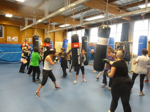 stage initiation boxe feminine GRATUIT octobre 2014