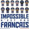 Impossible n'est pas FRAN�AIS !