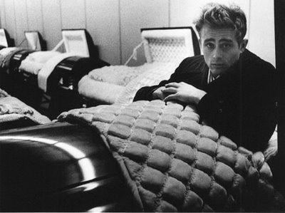 James dean  24 ans ,  mort dans un accident de voiture en 1955