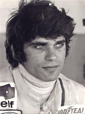 Fran�ois Cevert  29 ans ,  mort en course  le 6 octobre 1973 au  GP des �tats-Unis..