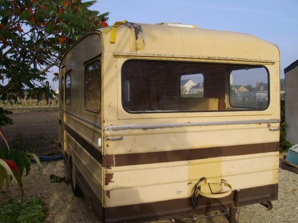 restauration tesserault 1964 caravane tesserault. Black Bedroom Furniture Sets. Home Design Ideas