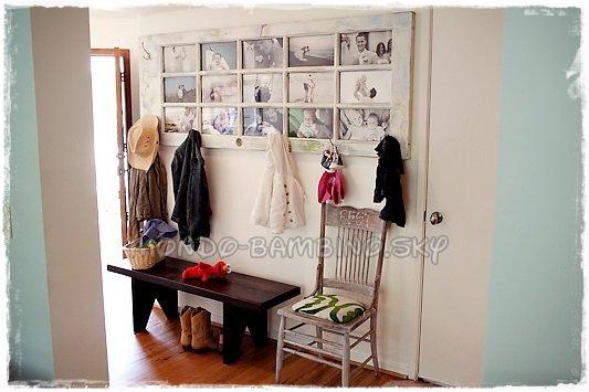 cr er un cadre photo r cup avec une vieille porte d couvrez le monde de b b. Black Bedroom Furniture Sets. Home Design Ideas