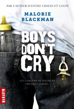 Boys don't cry, de Mallorie Blackman chez Macadam