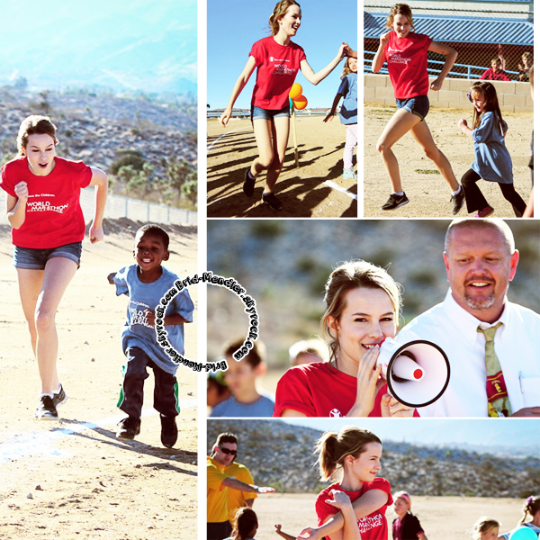 16 Octobre 2013 | Brid' �tait au World Marathon Challenge pour Save The Children, en Cali.
