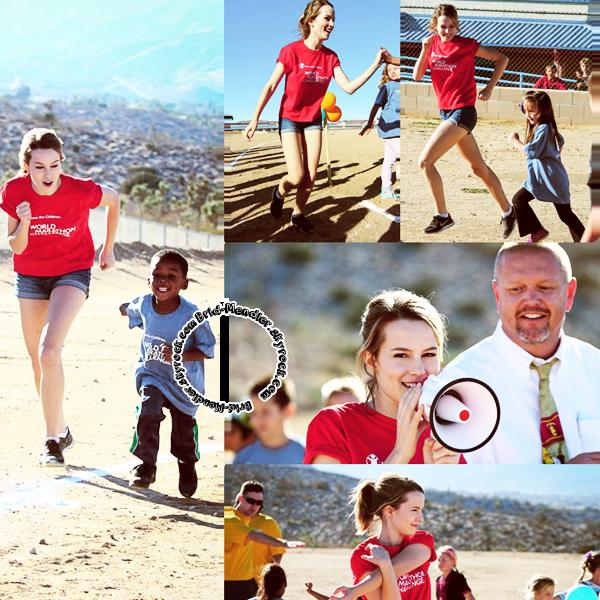 16 Octobre 2013 | Brid' �tait au World Marathon Challenge pour Save The Children, en Cali.