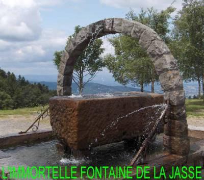 La Fontaine de la Jasserie du Pilat
