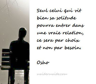 Citations du jour : La solitude (6)