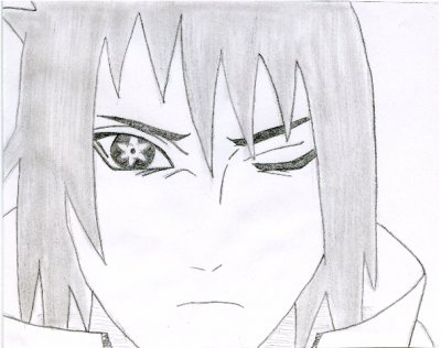 Comment dessiner sasuke - Comment dessiner un ninja ...