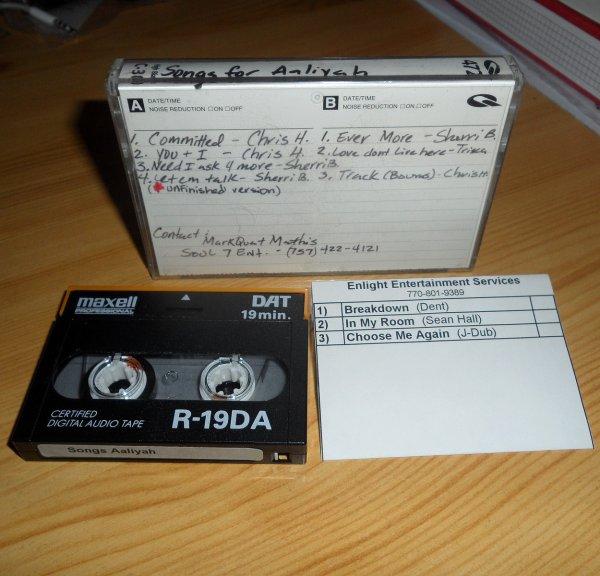 Ecoutez les d�mos enregistr�es pour Aaliyah!!