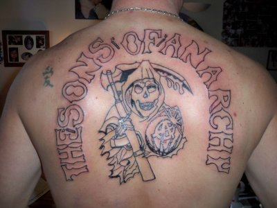 These people definitely didn 39 t think twice before getting for Sons of anarchy tattoos