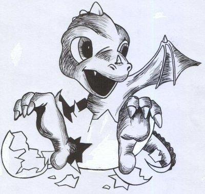 B b dragon blog de dessin bd and mangas - Dessin tres dur ...