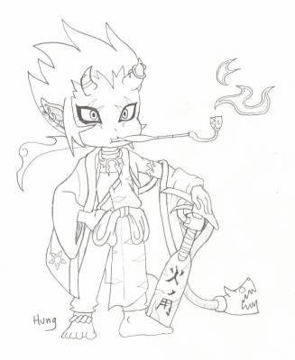 Dessin manga devil le coffre aux dessins - Dessin ange demon ...