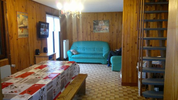 La salle � manger et le salon