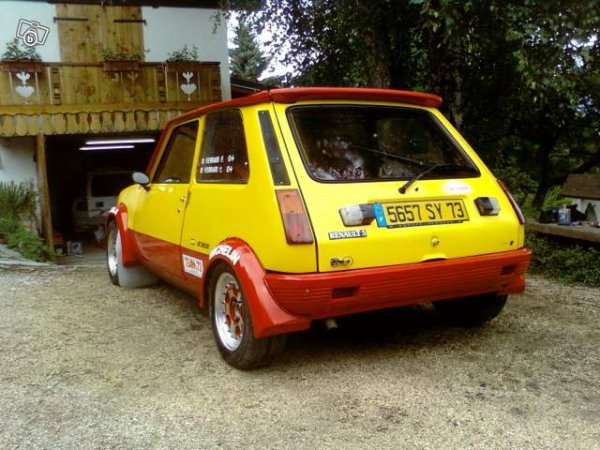 a vendre r5 alpine turbo calberson photo 2 renault 5 alpine gr2