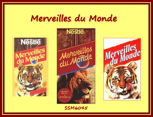 Merveilles du Monde Chocolat le Chocolat Merveilles du