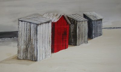 les cabines de plage mer et nature d 39 apr s portnic. Black Bedroom Furniture Sets. Home Design Ideas