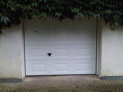 Porte de garage sectionnelle motoris novoferm iso45 blog de amcth - Porte de garage novoferm ...