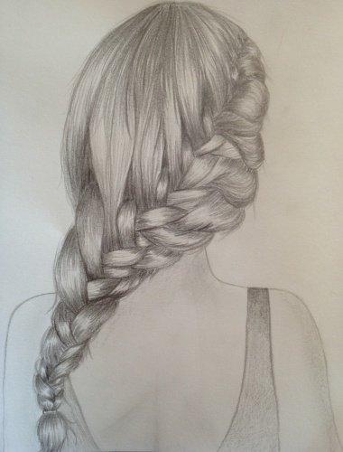 Articles de petitbazardefilles tagg s beautysymphony - Comment dessiner une tresse ...
