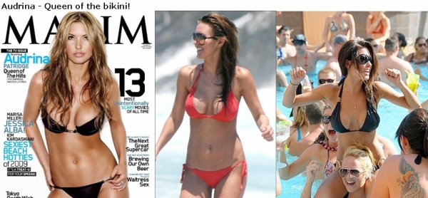Audrina Patridge Success x2 in Las Vegas!
