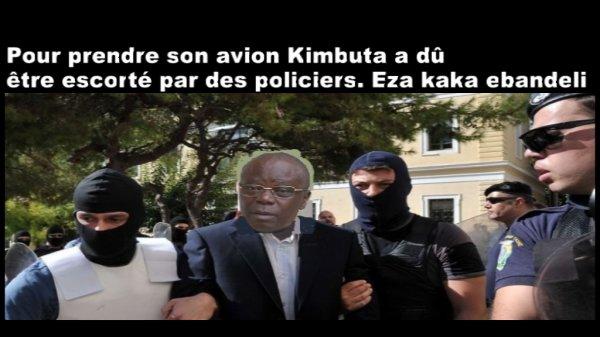 Vid�o:Andr� Kimbuta gouverneur de Kinshasa MUTAKALISE � BXL malgr� son d�guisement ce 13/10/2014