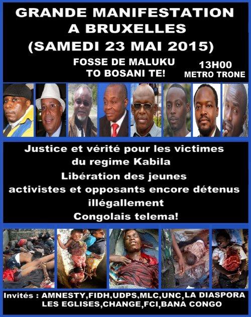 La chanteuse Burundaise Khadja Nin interpelle les m�dias contre la dictature et la repression des manifestants dans son pays � l'inverse Tshalamuana insulte ses compatriotes et justifie les massacres du r�gime Kabila
