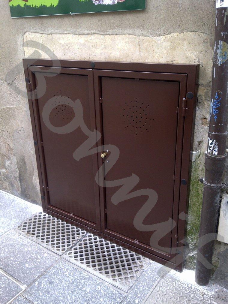 bonnif 39 fabrication porte acces cave exterieur nancy meurthe et moselle bonnif serrurerie. Black Bedroom Furniture Sets. Home Design Ideas