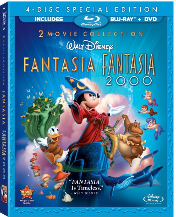Critique: Édition 2 Movie Collection de Fantasia et Fantasia 2000