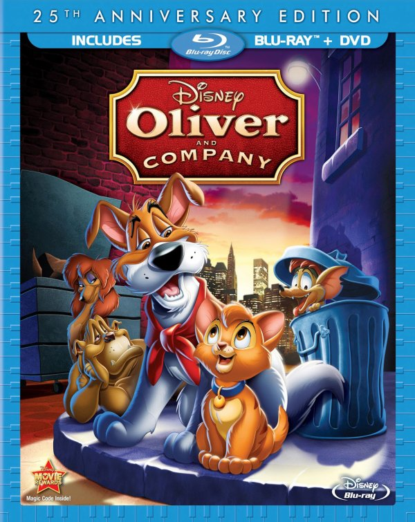 Critique: Édition blu-ray d'Oliver et compagnie
