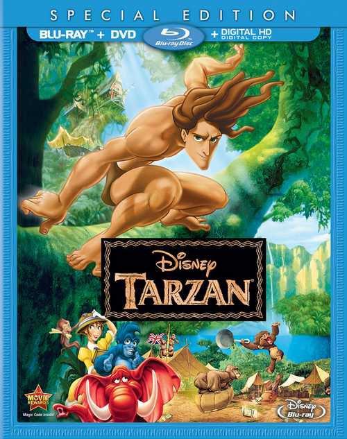 Critique: Édition blu-ray de Tarzan