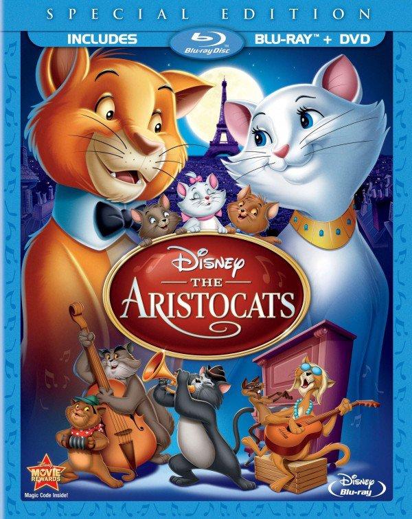 Critique: Édition blu-ray de Les aristochats