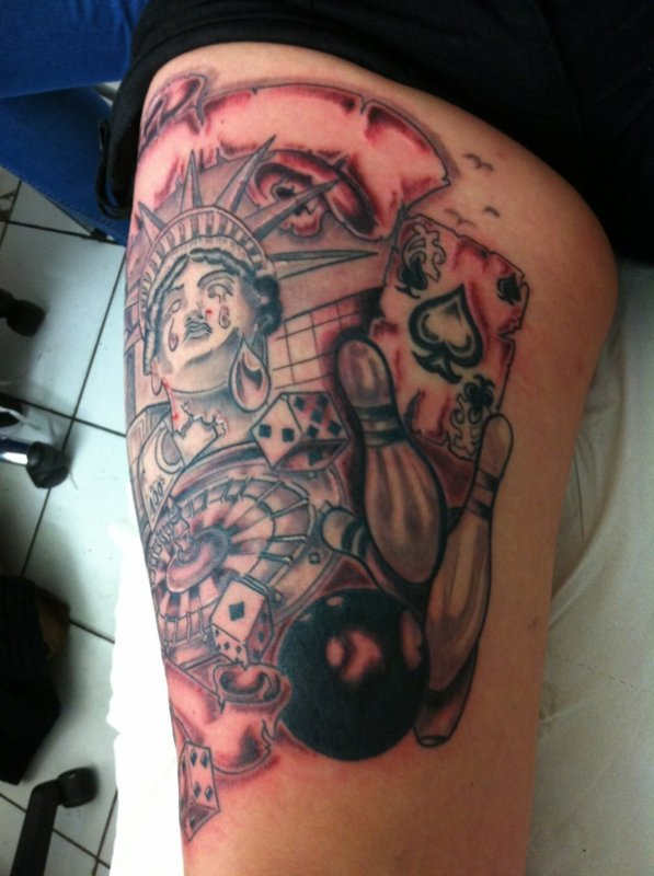 Las Vegas Parano Tattoo Fin Las Vegas Parano