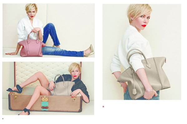 LOUIS VUITTON HANDBAGS CAMPAIGN - SPRING / SUMMER 2014