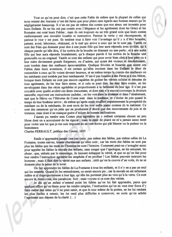 Dissertation Bac Francais Argumentation