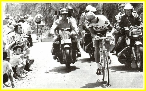 Eddy Merckx & Bernard Thevenet en 1975.!!!