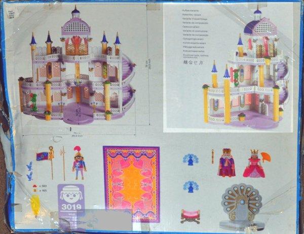 Chateau Princesse Playmobil 3019 Manuel D Utilisation