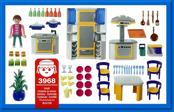 Notice cuisine playmobil