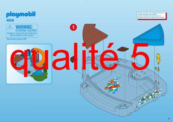 Articles de boblebrestois playmobil tagg s notice for Playmobil 4858 piscine avec toboggan