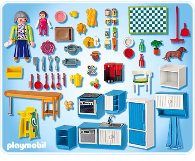 notice cuisine playmobil. Black Bedroom Furniture Sets. Home Design Ideas